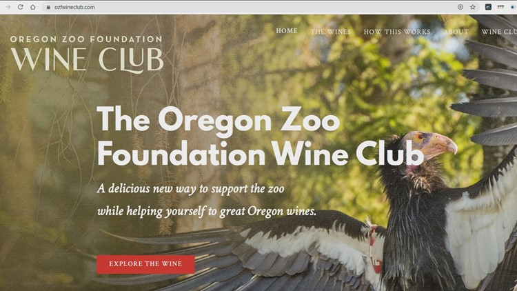 Wine club benefits Oregon Zoo during COVID-19 slowdown