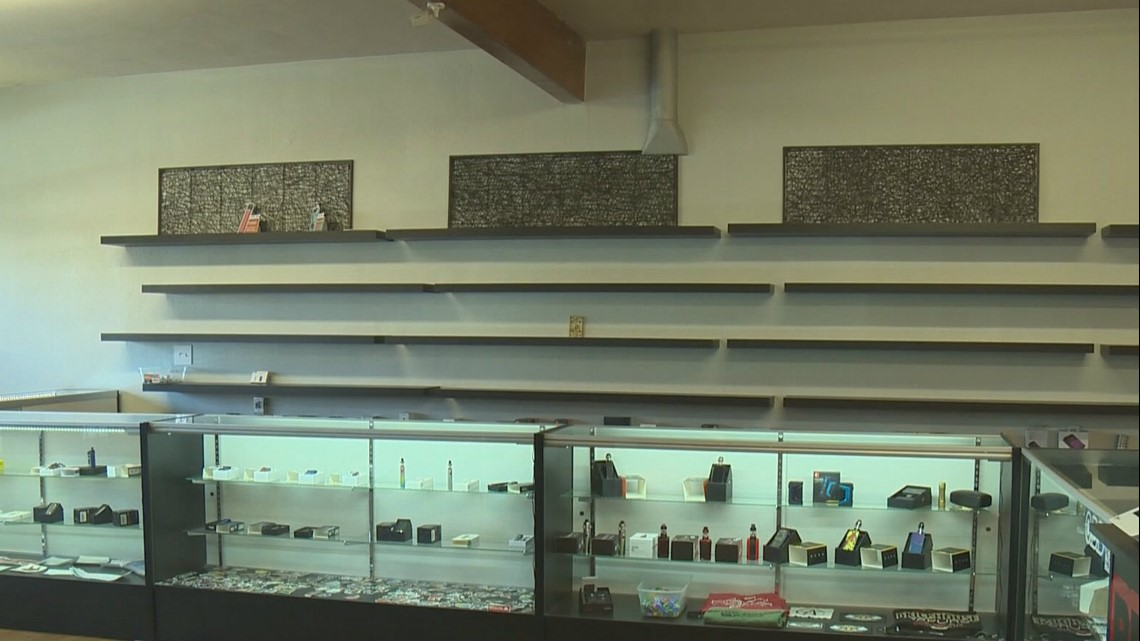 Vape shop owners feeling impact of Washington's statewide ban