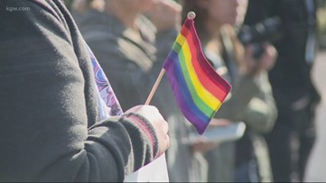 West Linn HS students walk out of class to support LGBTQ rights