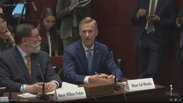 Mayor Ted Wheeler testifies on climate change before U.S. Senate committee