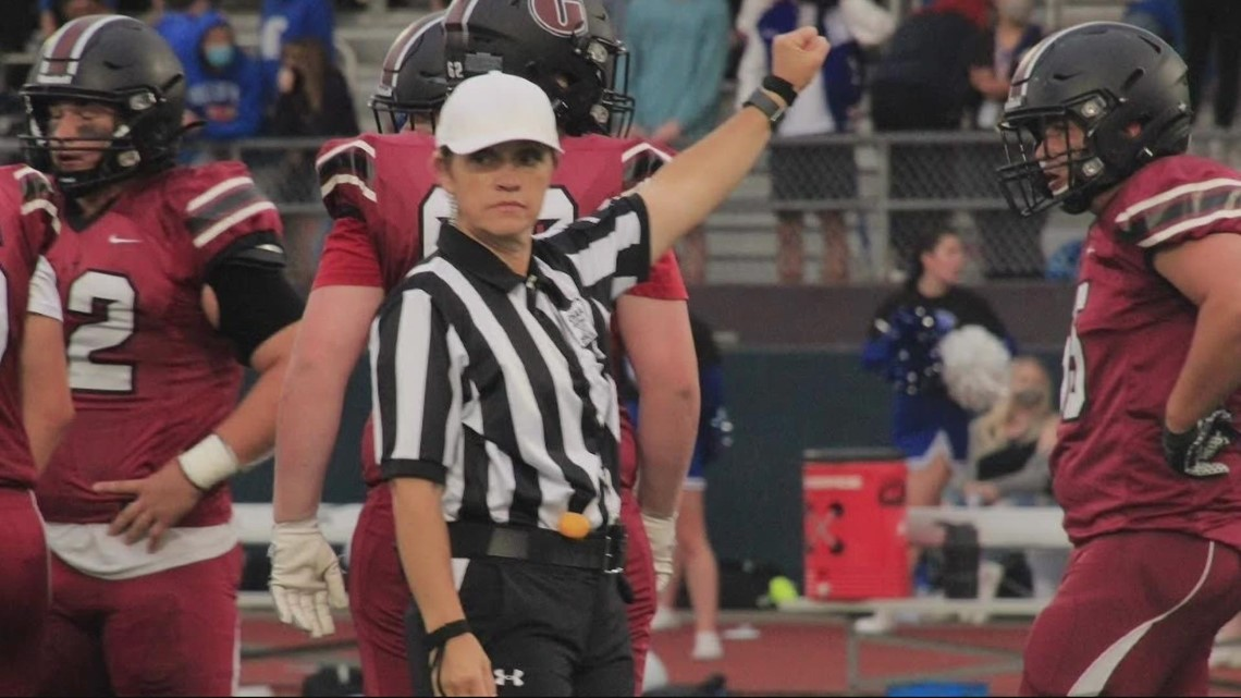 All-female crew of high school football referees makes history