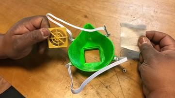 Yakima community workshop 3D printing face masks for hospitals