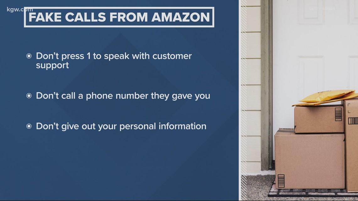 Amazon customer support scam