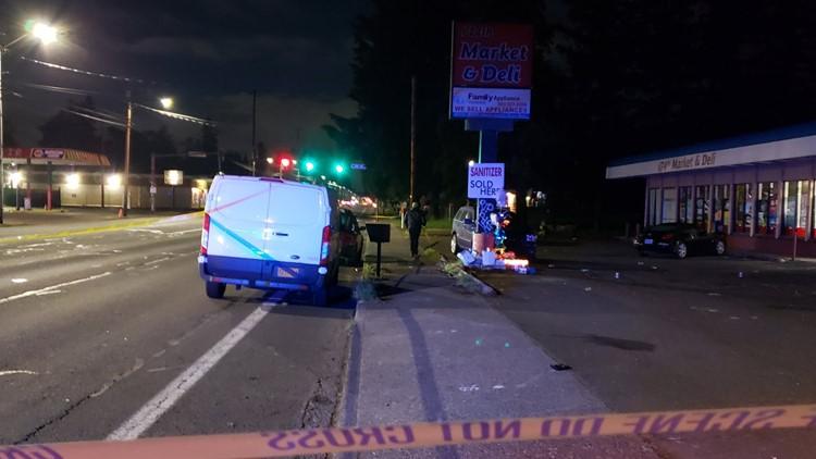 7 people injured in drive-by shooting at Gresham vigil