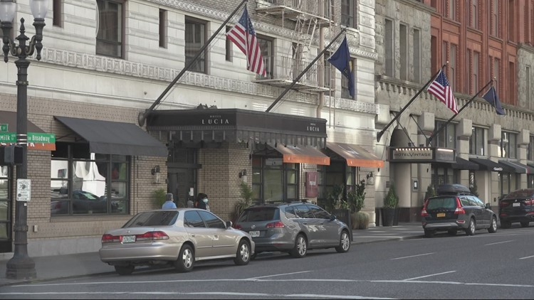 'It's frightened people away': Downtown Portland hotels slow to recover due to pandemic, reputation