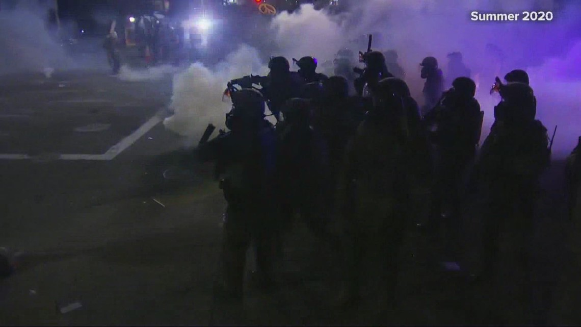 Portland researchers study effects of teargas