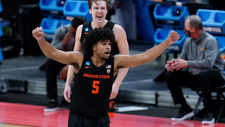 Oregon State takes down Tennessee 70-56 as No. 12 seed