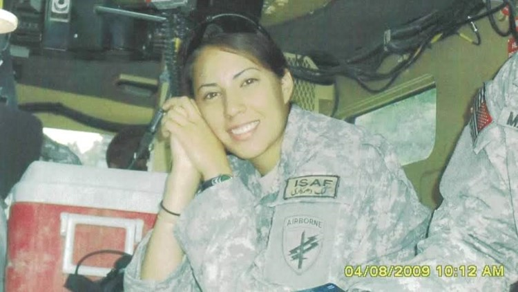 Ruth Zhang combat Army veteran