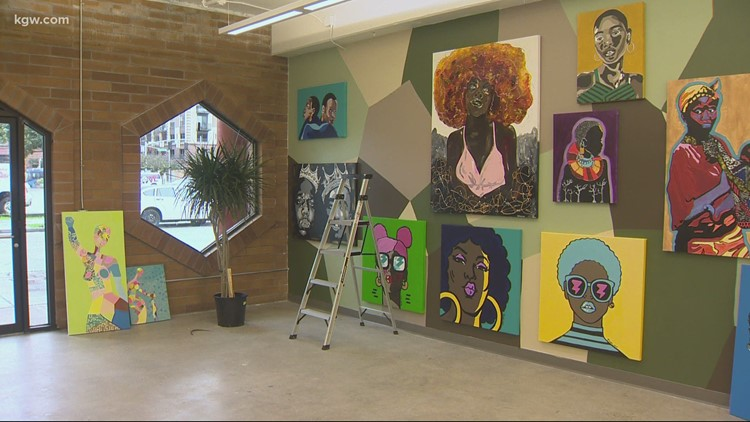 A new pop-up project honors Black History month in Old Town