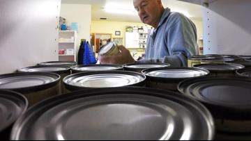 Food pantries experiencing 'perfect storm' with coronavirus