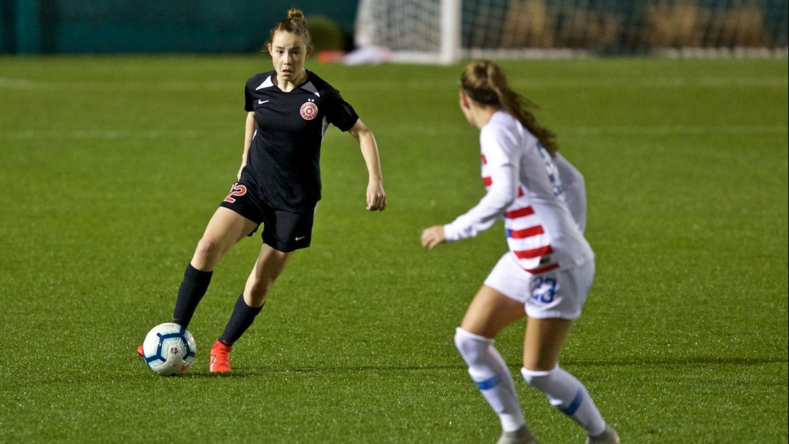13-year-old phenom makes professional debut in Portland Thorns preseason match