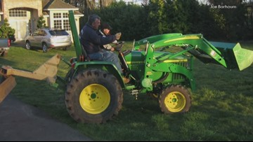Happy Valley family wants stolen family tractor back