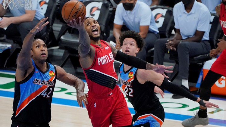 Blazers' Damian Lillard picked as NBA All-Star for 6th time