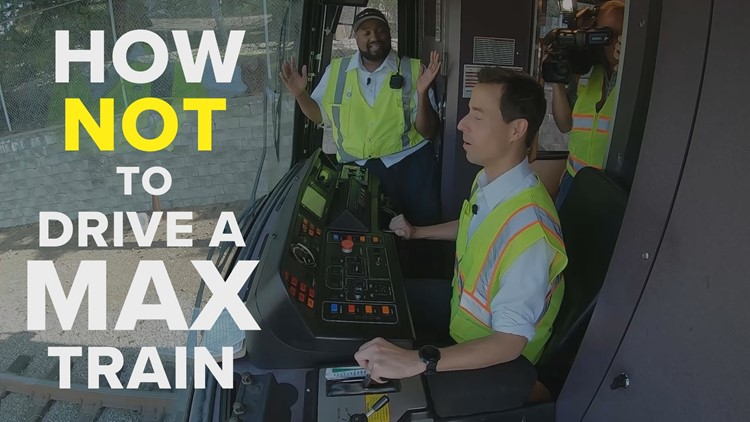 Driving Me Crazy: How NOT to drive a MAX train