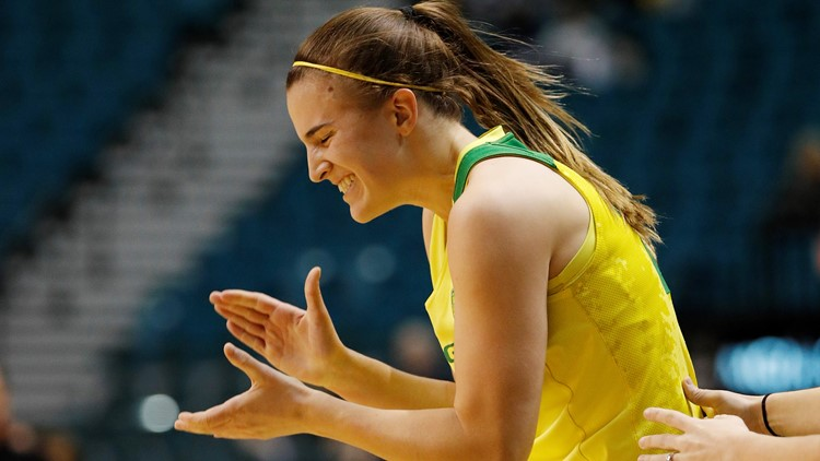 Sabrina IonescuP12 Arizona Oregon Basketball