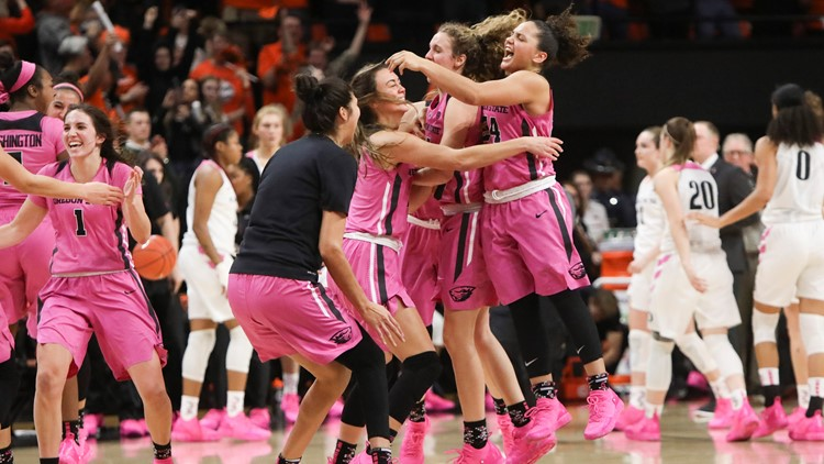 Oregon State Beavers women's basketball Oregon Oregon St Basketball