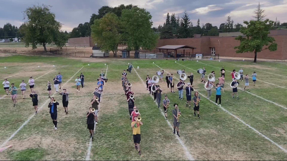 St. Helens marching band gets help after trailer was stolen