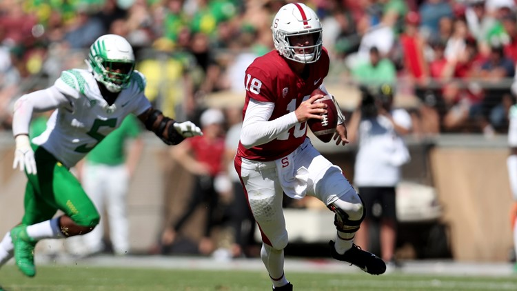 Stanford rallies late to beat No. 3 Oregon 31-24 in OT