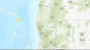 4.7 magnitude earthquake strikes off Southern Oregon Coast