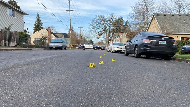Police seek suspect after report of shots fired in North Portland neighborhood