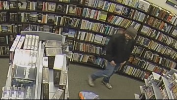 Man arrested for touching woman in bookstore