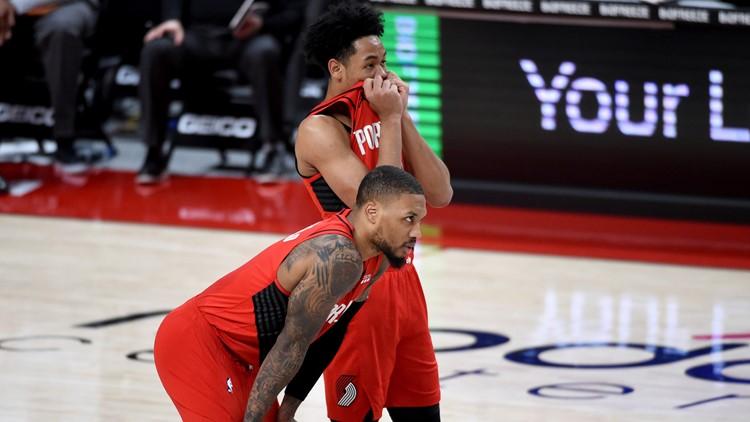 Blazers go on 3-game losing streak amid shooting slump