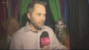 Celebrate Valentine's Day at a haunted house