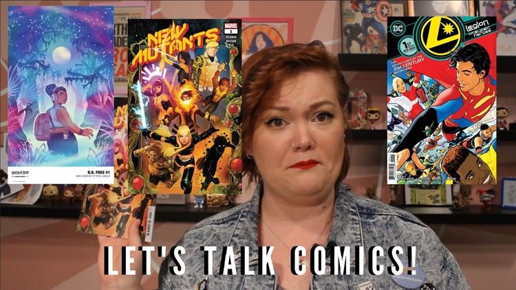 This week in comics: New Mutants, Legion of Superheroes and B.B. Free