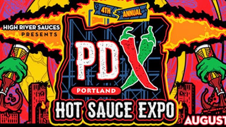 Portland Hot Sauce Expo logo