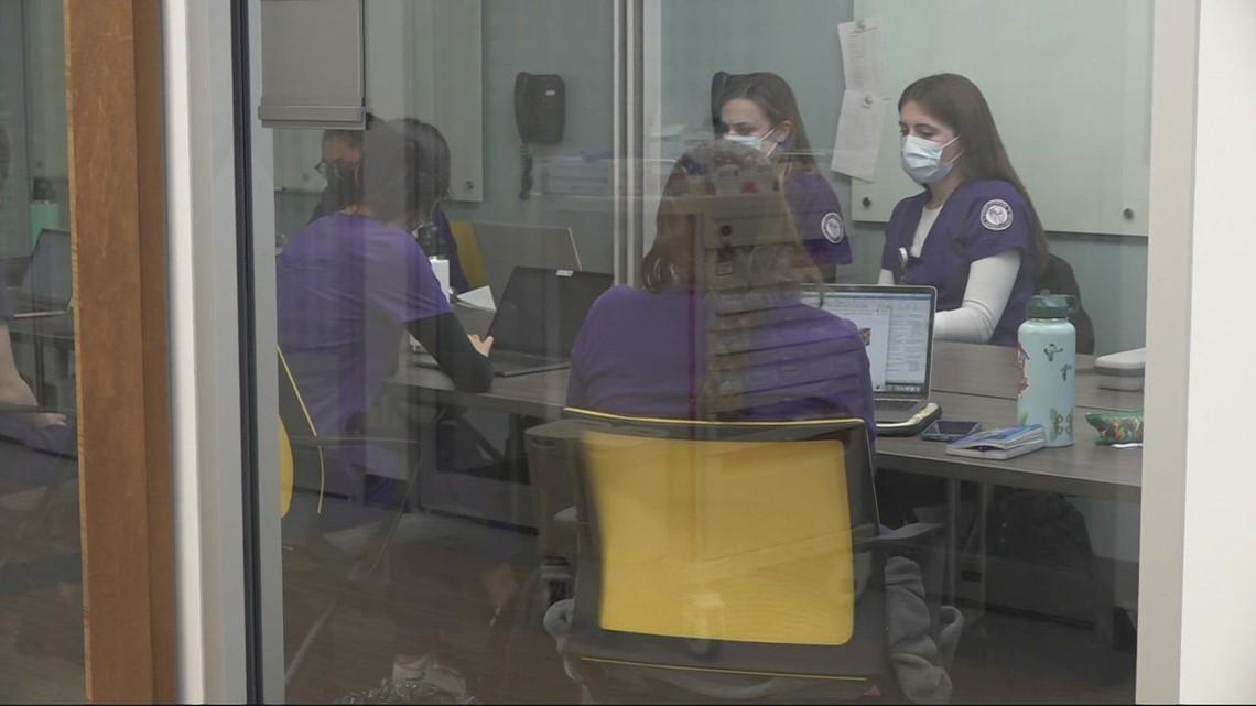 University of Portland nursing programs preparing students for pandemic-related workforce challenges