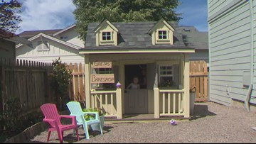 Hillsboro girl gets dream playhouse