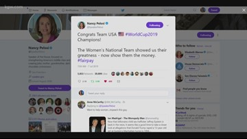 Debate over equal pay for women's soccer