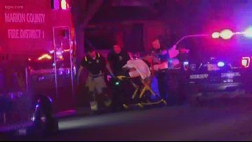 2 men dead, woman wounded after Salem shooting