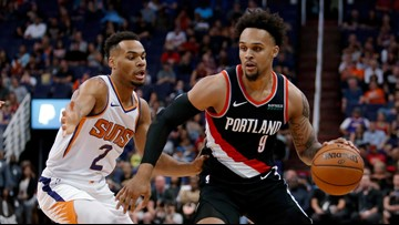 Gary Trent Jr. scores 31 to lead Blazers to summer league victory