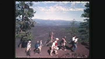 KGW files: NASA astronauts visit Oregon lava beds that emulate the moon's surface