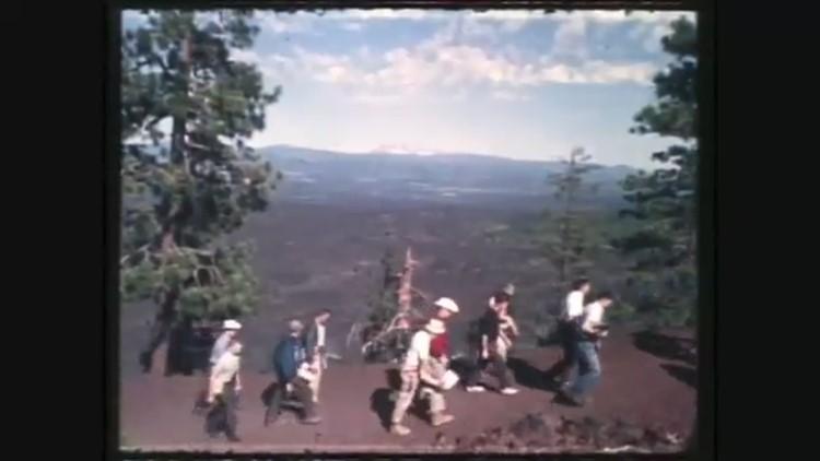 KGW files: NASA astronauts visit Oregon lava beds that emulate the moon's surface