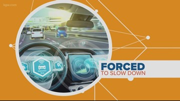 Connecting the Dots:  Future car technology controlling your speed