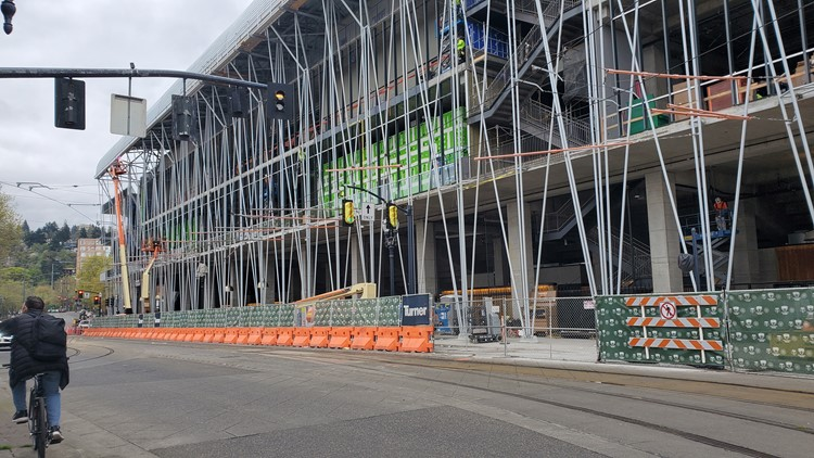 Providence Park expansion-exterior
