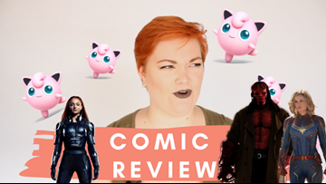 Let's talk comics! And movies! And nerd stuff!