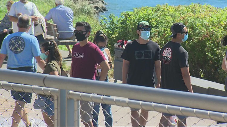 New outdoor mask mandate for large crowds starts in Washington