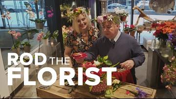 Rod on the Job: Florist at Geranium Lake Flowers
