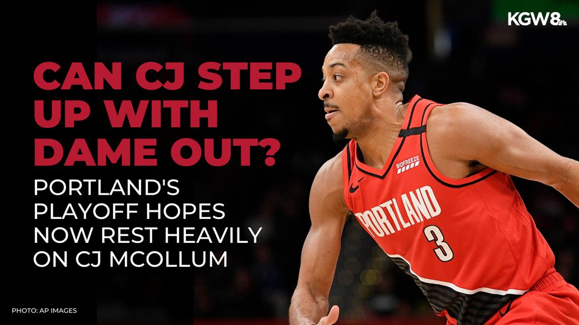 Can CJ McCollum carry the Portland Trail Blazers without Damian Lillard?