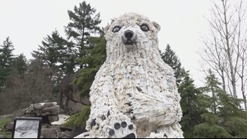 New art arrivals at Oregon Zoo raise awareness about harmful plastics in the ocean