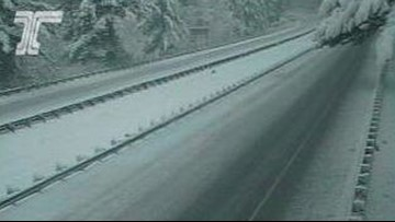 I-84 eastbound through Gorge reopens after closure for ice, spinouts