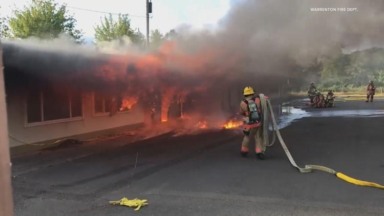 Fire department on the Oregon Coast gains volunteers despite vaccine mandate