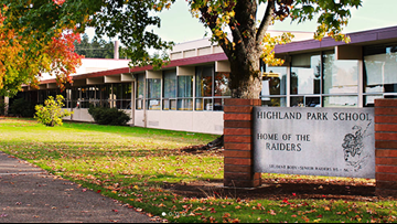 Highland Park Middle School in Beaverton closed Friday over asbestos concerns