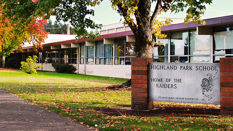 Highland Park Middle School In Beaverton Closed Friday