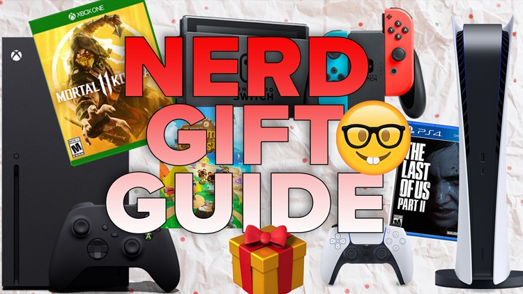 Here's what to get the nerd in your life for the holidays