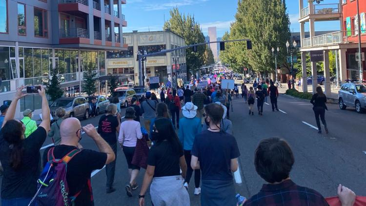 GALLERY: Portlanders march for reproductive rights