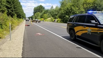 One person killed in crash that closed Highway 18 near Dayton